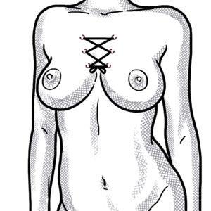 Korsett-Piercing